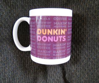 Dunkin Donuts Classic Ceramic Coffee Mug