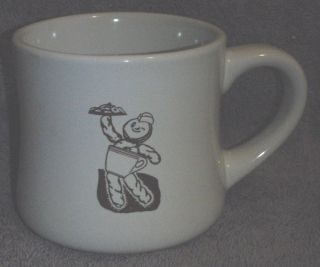 Dunkin Donuts Flare Style Donut Man and Logo Coffee Mug