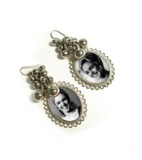Pop Art Andy Warhol Edie Sedgwick Factory Girl Earrings