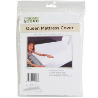 QUEEN SIZE MATTRESS COVER Durable Extra Soft Plastic Fitted Protector