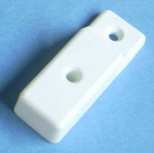 Drawer Slide Plastic Spacer White 15mm 3651 20 Bag