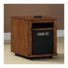 Duraflame Infrared Quartz Electric Portable Heater ESPRESSO Finish new
