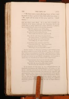 samuel johnson by boswell with notes from edmond malone a little worn