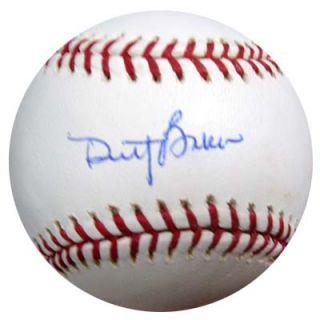 Dusty Baker Autographed Signed MLB Baseball PSA DNA J91162