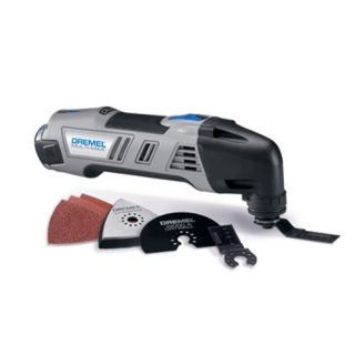 Dremel 8300 01 Cordless Multi Max Oscillating Tool Kit with