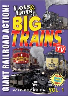 "DVD release, ""Lots & Lots of Big Trains – Giant Railroad Action"