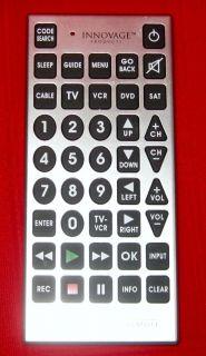 Emerson Jumbo Universal Remote Control TV DVD VCR
