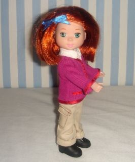 Madeline Doll Poseable Mini American Girl Doll Friend