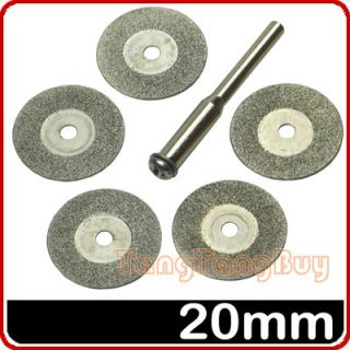 MINI Diamond Cutting Discs Fit Rotary Tool Dremel Tools Jewelry Drills
