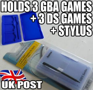 DS Stylus Game Case for DS Game Boy Advance Games