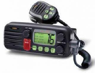 DSC Marine 2 Way VHF Radio 25 Watts Submersible RADIO ONLY USED