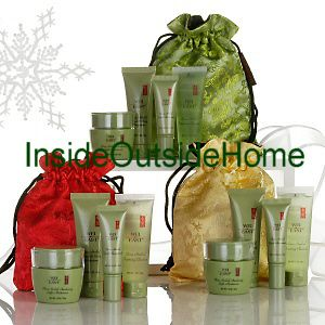 Wei East China Herbal Set Try Me Bag Travel Kit 4pc Cleanser Serum