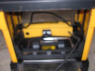 dewalt thickness planer owners manual
