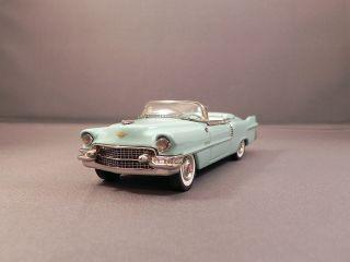 Minimarque 1955 Cadillac Eldorado Convertible Mist Green Open