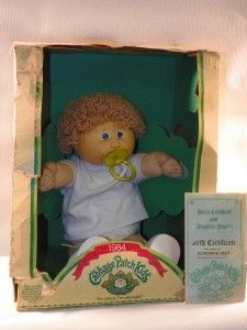 17 Vintage Cabbage Patch Kid 1984 Eldredge Olly B31U804