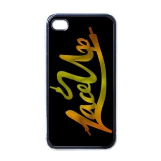 New Lace Up MGK Machine Gun Kelly Cleveland iPhone 4 Case Black for