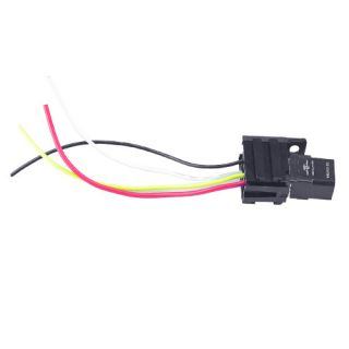 Car Truck 30A 12V Relay Kit for Electric Fan Fuel Pump Light Horn 4pin