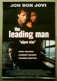 Turkish Movie Poster The Leading Man Jon Bon Jovi