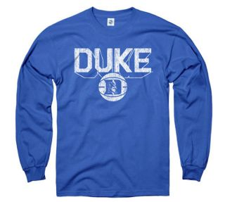 Duke Blue Devils Royal Dimension Basketball Long Sleeve T Shirt
