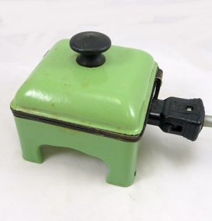 Vintage Electric Sandwich Maker Toaster Grill Press Old