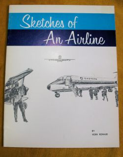 Vern Renaud Sketches of an Airline, Eastern Airplanes Curtiss Condor