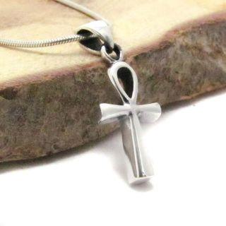 egyptian ankh cross 925 silver pendant pendants plain petite egyptian