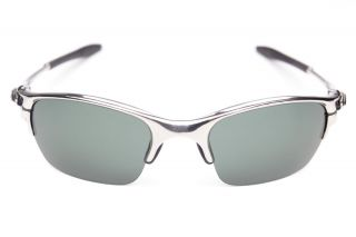 Stealth Black Replacement Lenses for Oakley Half x Sunglasses