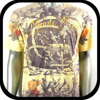 Minute Mirth T Shirt Tattoo Rock Punk Vtg N14 Sz M Hip Hop Skate Board