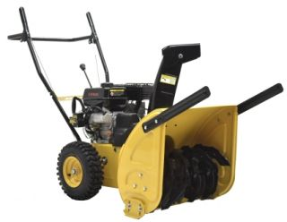 High Quality 196cc Electric Start /Two Stage Gas Snow Blower   Yellow