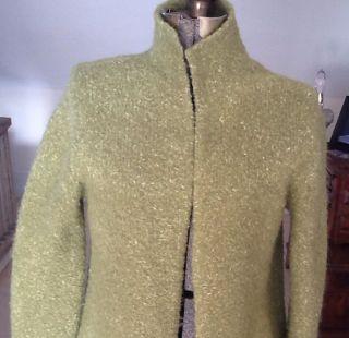Eileen Fisher Boiled Wool Sweater