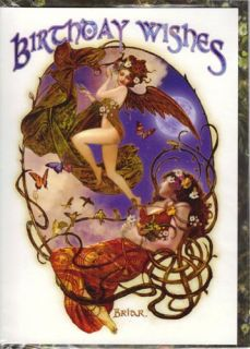 Fairy Birthday Cards by Briar The Awakening Fairies New Feathered