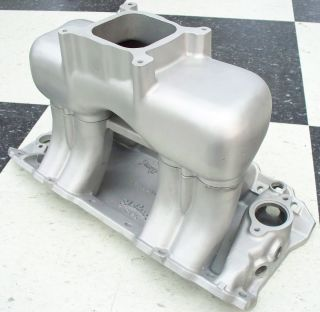 BBC, Chevy, Edelbrock Tunnel Ram Intake Manifold, Single Carburetor