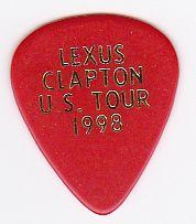 Eric Clapton Lexus Guitar Pick Pics Plectrum Picks