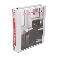 Office Impressions Economy View Binder Round Ring 1 1 2 White NIB