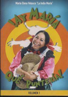 AY Maria Que Punteria DVD New Maria Elena La India Maria Factory