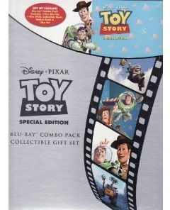 Toy Story Special Edition Blu Ray Combo Pack Collectible Gift Set DVD