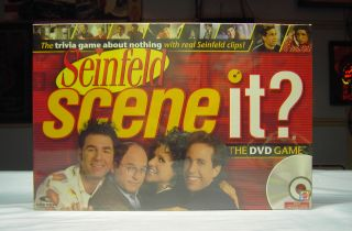 Seinfeld Scene It DVD Game New in Factory SEALED Box
