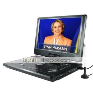 Portable Multimedia DVD Player with 12 Inch Widescreen (HV18)