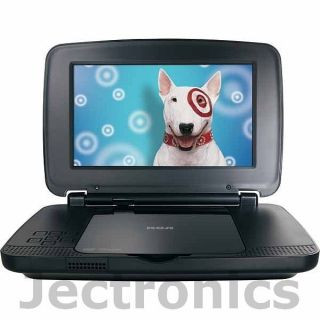 New RCA 9 Portable Mobile DVD Player with LCD Widescreen Display