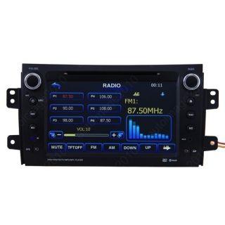 06 10 Suzuki SX4 Car GPS Navigation Radio TV DVD Player