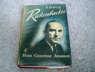 1946 Eddie Rickenbacker Book Hans Christian Adamson V