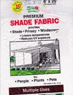 Easy Gardener Sun Screen Shade Fabric Partial Roll Smoke Blue 2 pieces