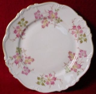 EDELSTEIN china AUTUMN LEAVES pttrn SALAD PLATE