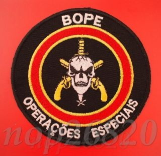 POLICE POLIZEI POLICIA PATCH ELITE SQUAD SPECIAL OPERATIONS no SWAT P1