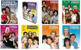 Threes Company DVD Complete Series 1 8 Brand New 172 Episodes 1 2 3 4