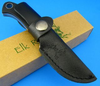Elk Ridge Clip Point 440 High Carbon Surgical Steel Fixed Blade Knife