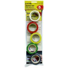 Black Yellow Green Colored Vinyl Electrical Tape 5 3 4 x 12ft