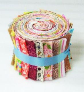 Eclectic Sampler Jelly Roll Cotton Fabric Quilting 21 2 5 Strips