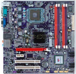 ecs g33t m2 v 1 0 intel g33 1333fsb ddr2 sata2 desktop motherboard