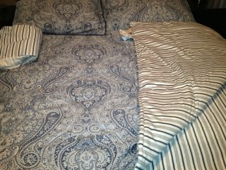 Ralph Lauren Home Townsend Paisley Queen Comforter Set